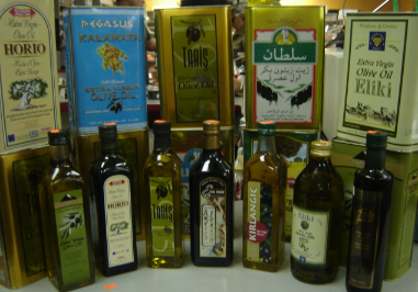 Various Olive Oils